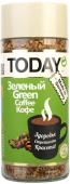 кофе Today Green с зелёным кофе 95 г в кристаллах