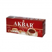 чай черный Akbar Mountain Fresh в пакетиках с/я 2 г.* 25 пак.